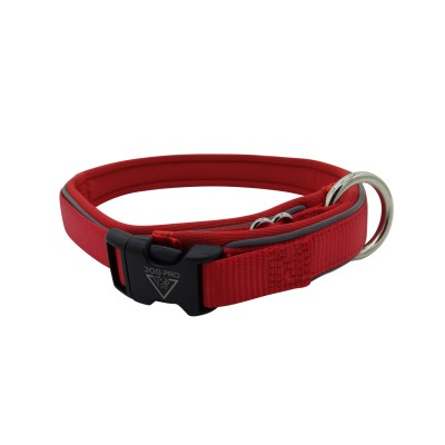 Collar Neoprene padded Medium Red