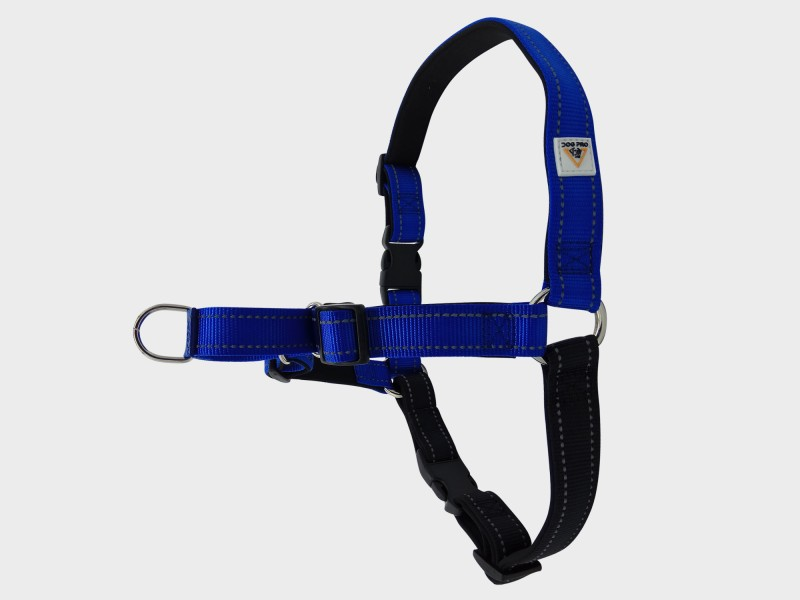 Harness Soft Training M/L Blue