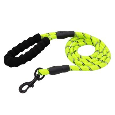 Reflective Rope with Padded Handle Green