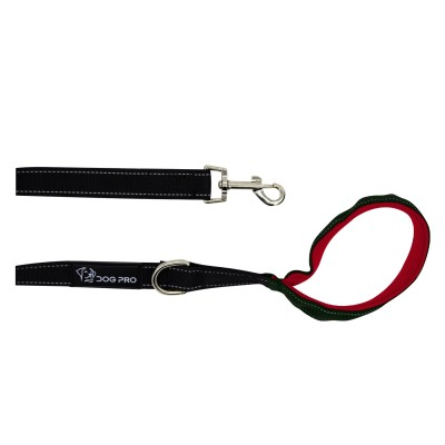 Training Leash 2m with Red Padded Handle